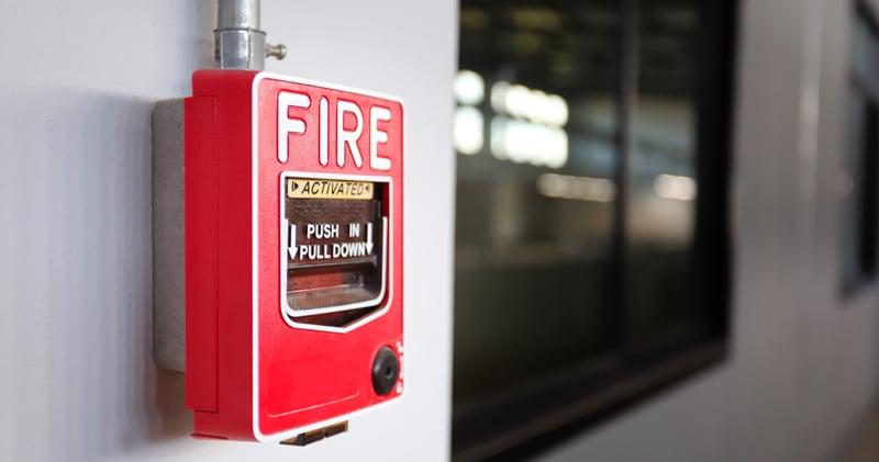 انظمة انذار الحريق