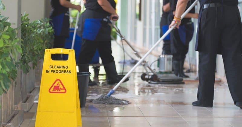 شركة نظافة وشئون البيئة
